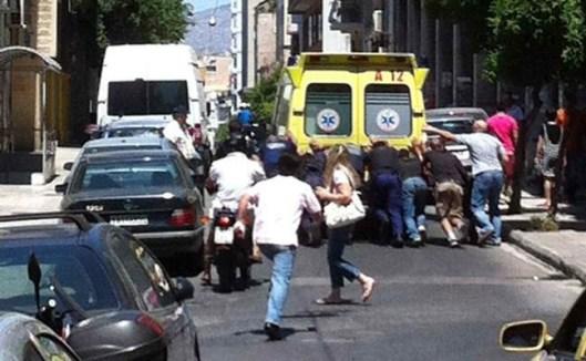 Αθήνα, οδός Πειραιώς, 20 Ιουλίου 2012