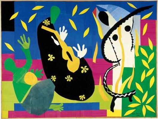 """""""Η  θλίψη του βασιλιά""""  Henri Matisse, 1952"""