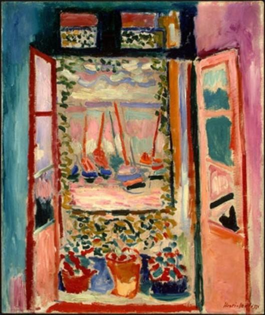 Henri Matisse-Open-Window, 1905