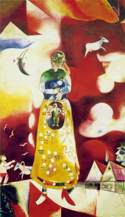 Mark Chagall, μητρότητα,1913