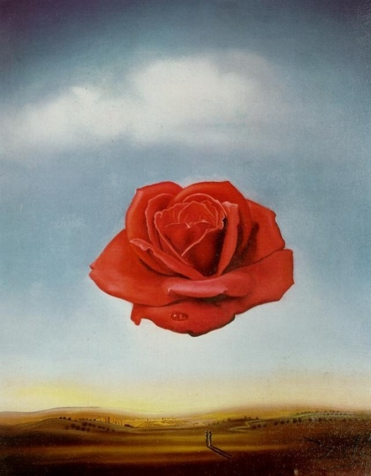 S. Dali, Rose meditative, 1958