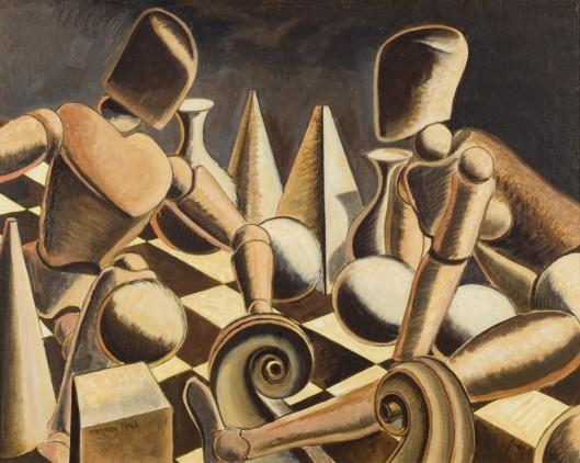 Endgame, Man Ray, 1946