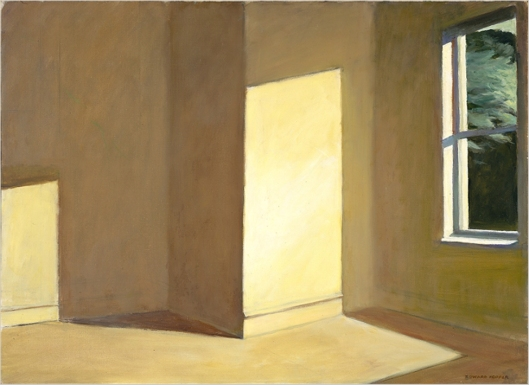 Εdward Ηopper, Sun in an empty room, 1963